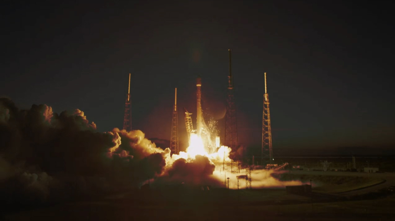 SpaceX Falcon 9 Launches SES-8 Satellite
