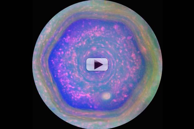 Cassini Snaps New Views Of Saturn's Hexagon | Video