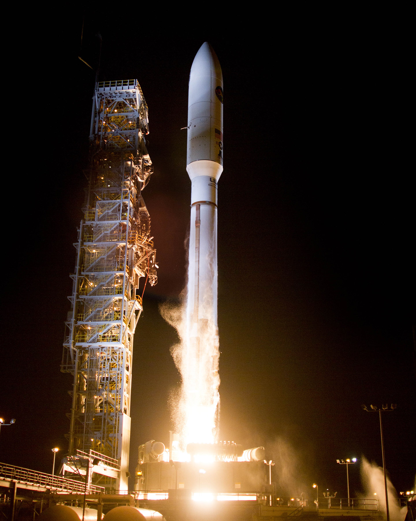 Lift Off! United Launch Alliance Atlas V Rocket Launches
