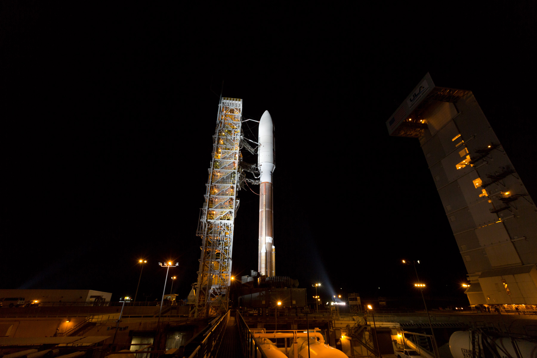 United Launch Alliance Awaits Atlas V Liftoff