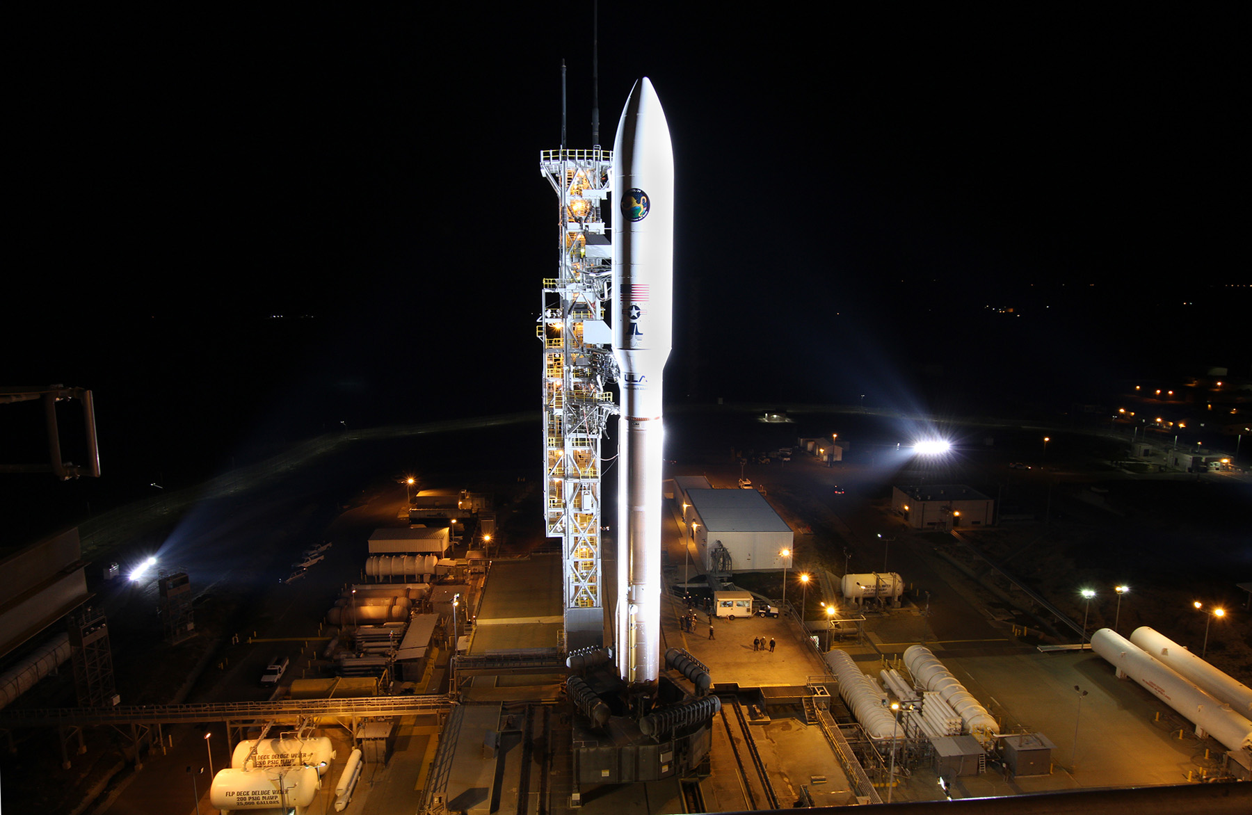 United Launch Alliance Preps for Atlas V Liftoff