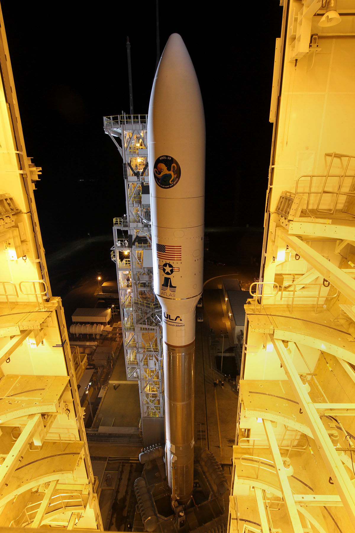 United Launch Alliance Atlas V Rocket Up Close