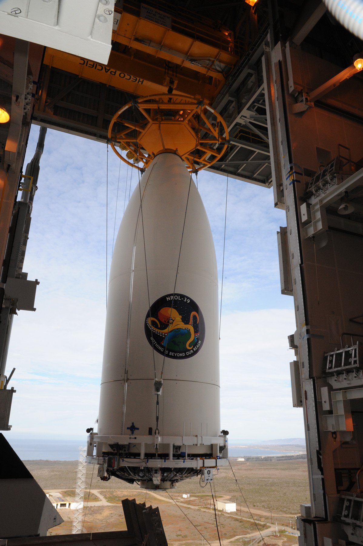NROL-39 Payload Mated to Atlas V Booster