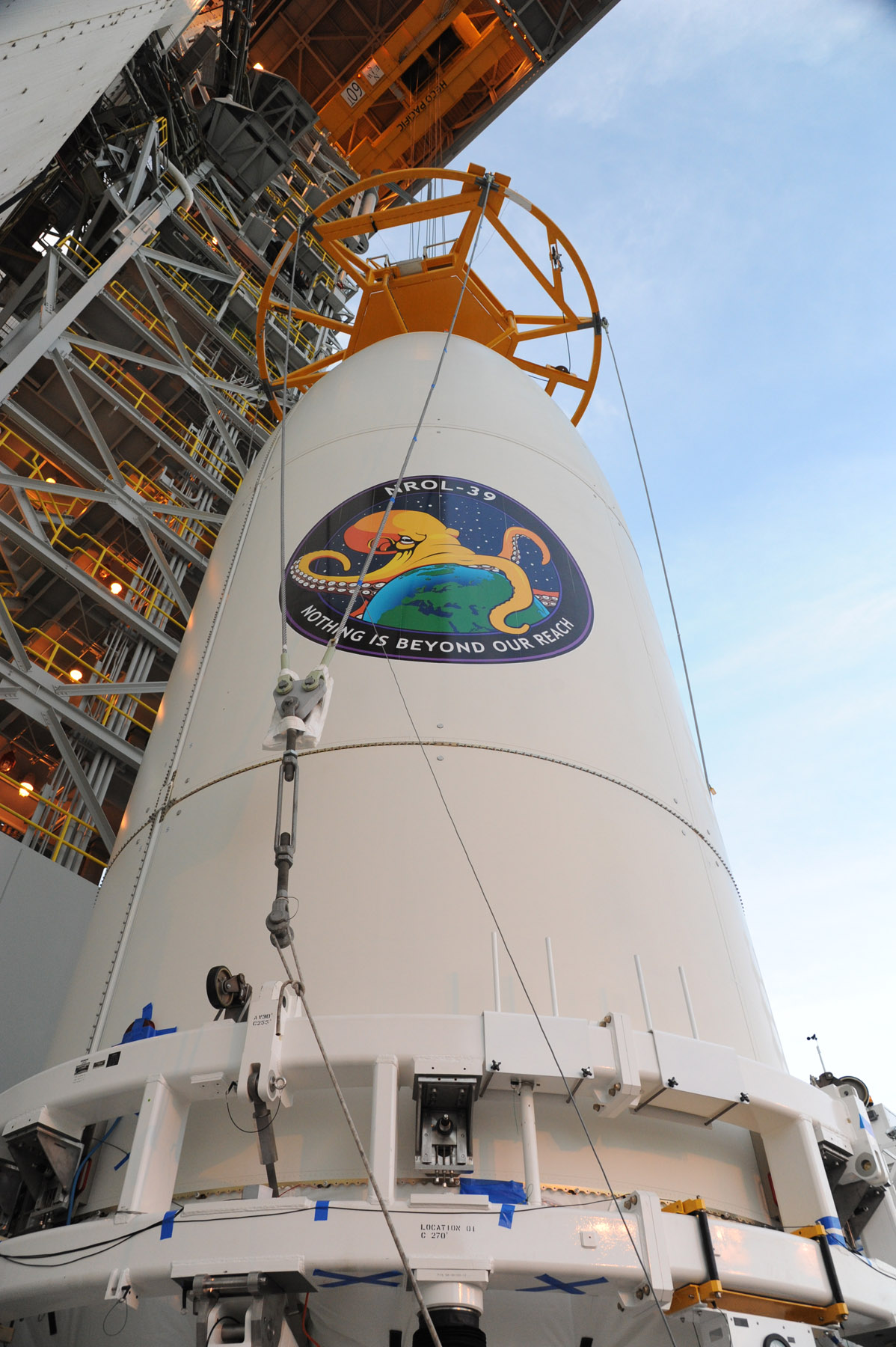NROL-39 Payload Transported to Atlas V Booster
