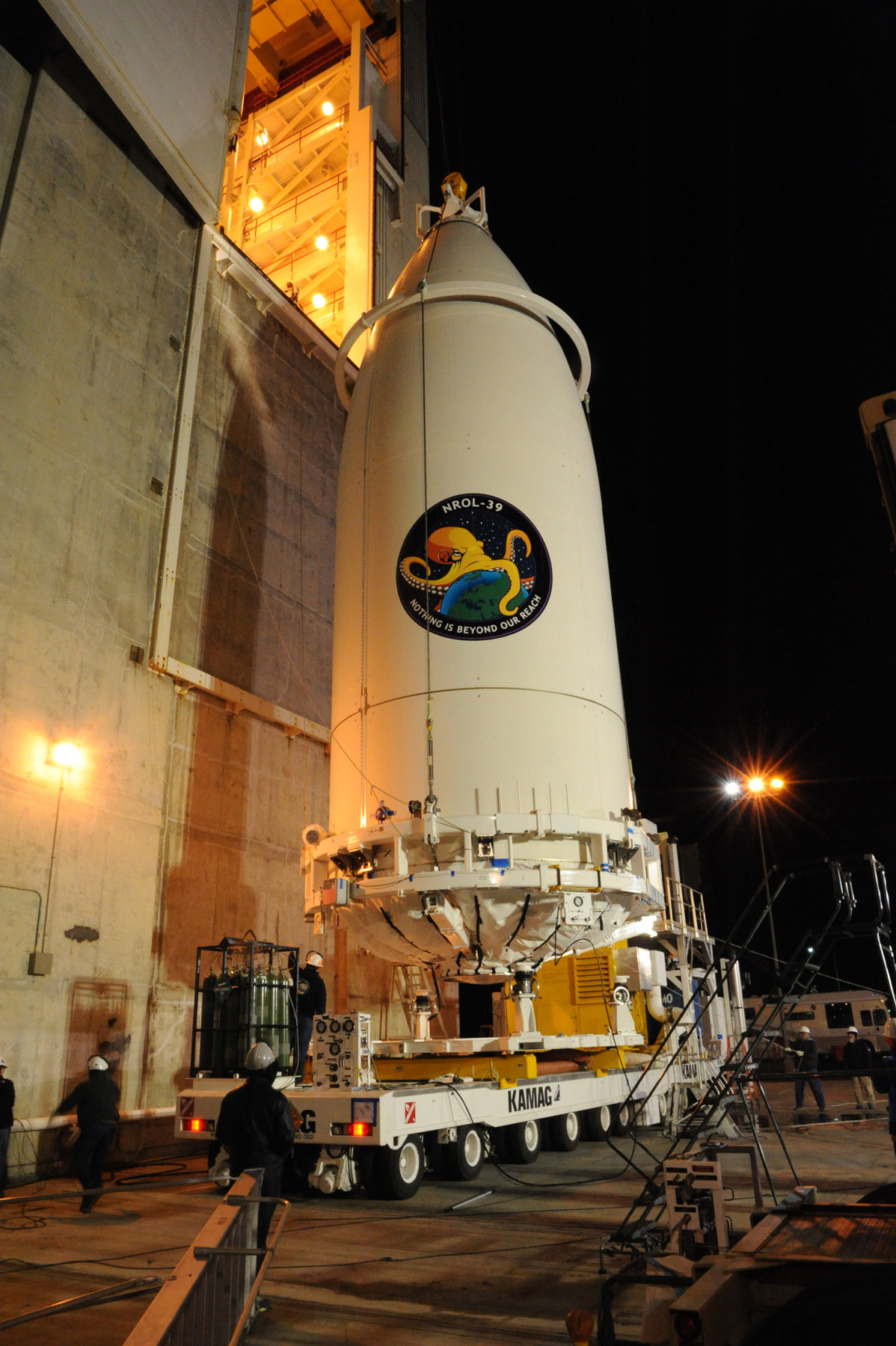 NROL-39 Payload Heads to Atlas V Booster