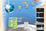 China's Chang'e 3 moon mission, the country's first flight to land a rover on the moon, is depicted in this graphic released by the China Aerospace Science and Technology Corporation. The mission launched on Dec. 2, 2013 Beijing Time and arrived in lunar orbit less than five days later.