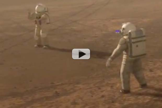 Curiosity: Mars Radiation Not Too High For Humans (but..) | Video