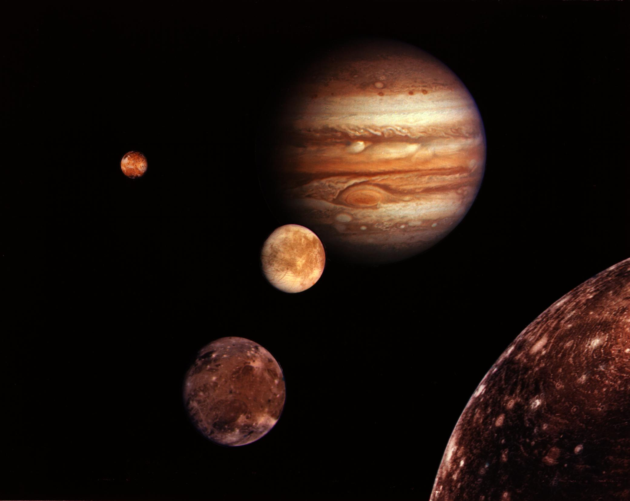 Life from Earth Could Have Hitched Ride to Moons of Jupiter, Saturn