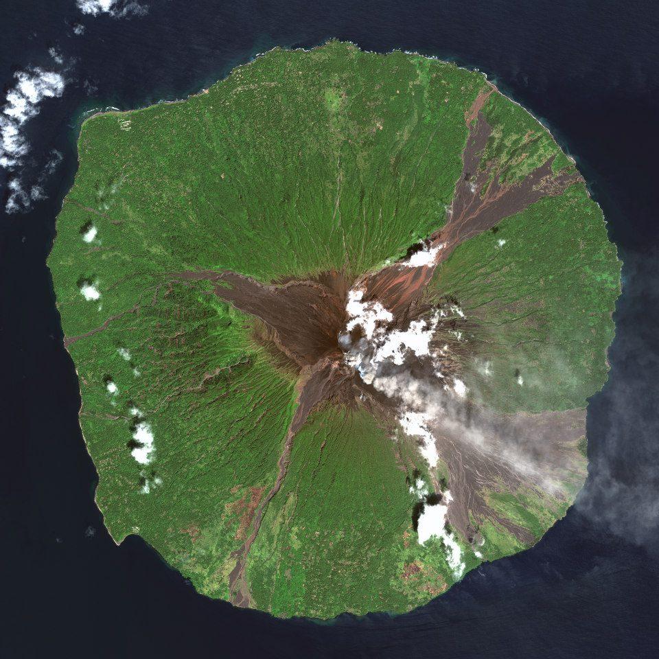 Madang Province, Papua New Guinea — Manam Volcano