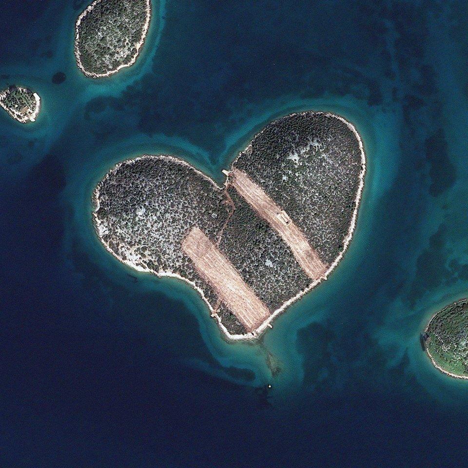 Croatia — Galešnjak (Island of Love)