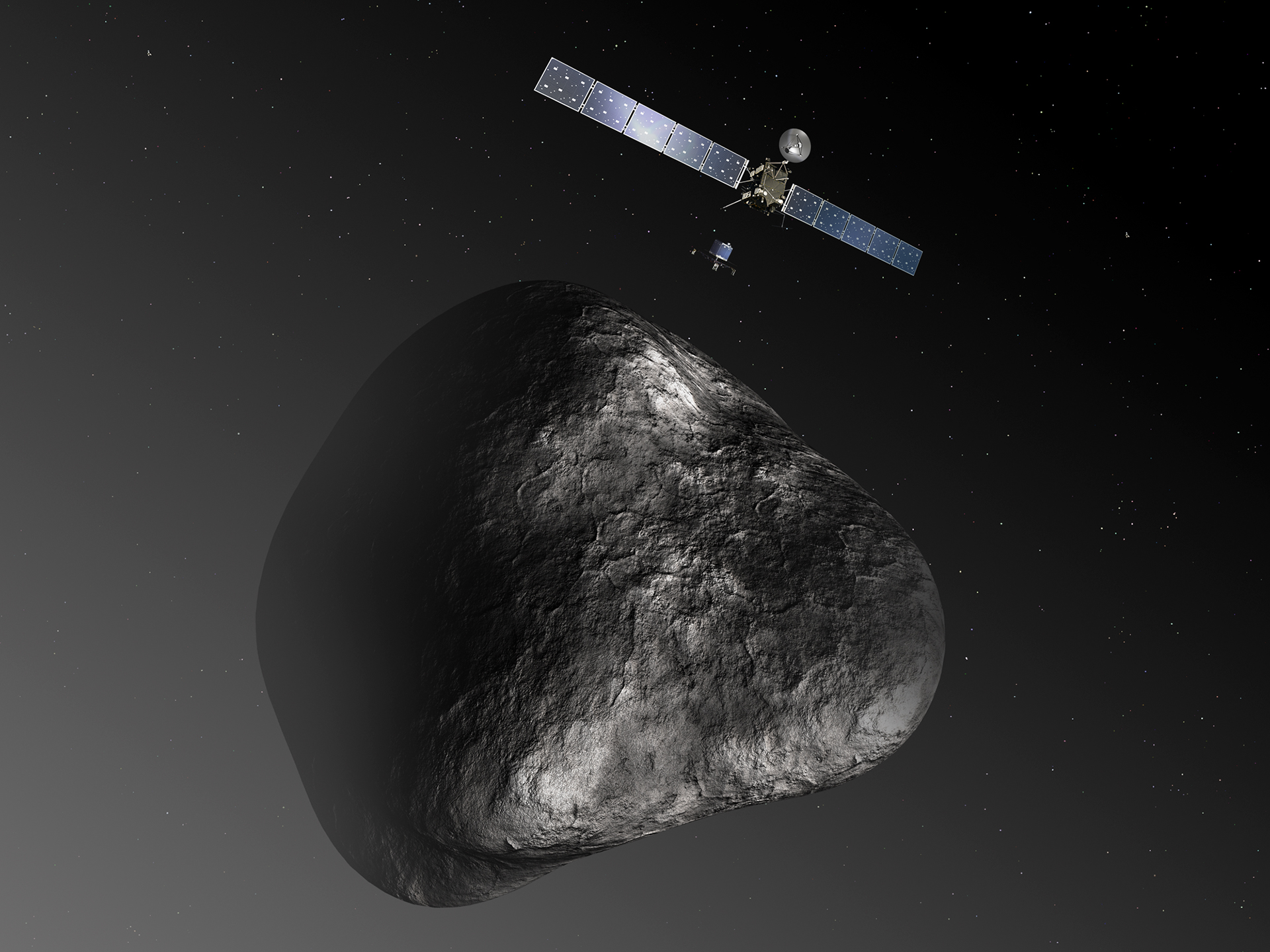 Rosetta Spacecraft: To Catch a Comet