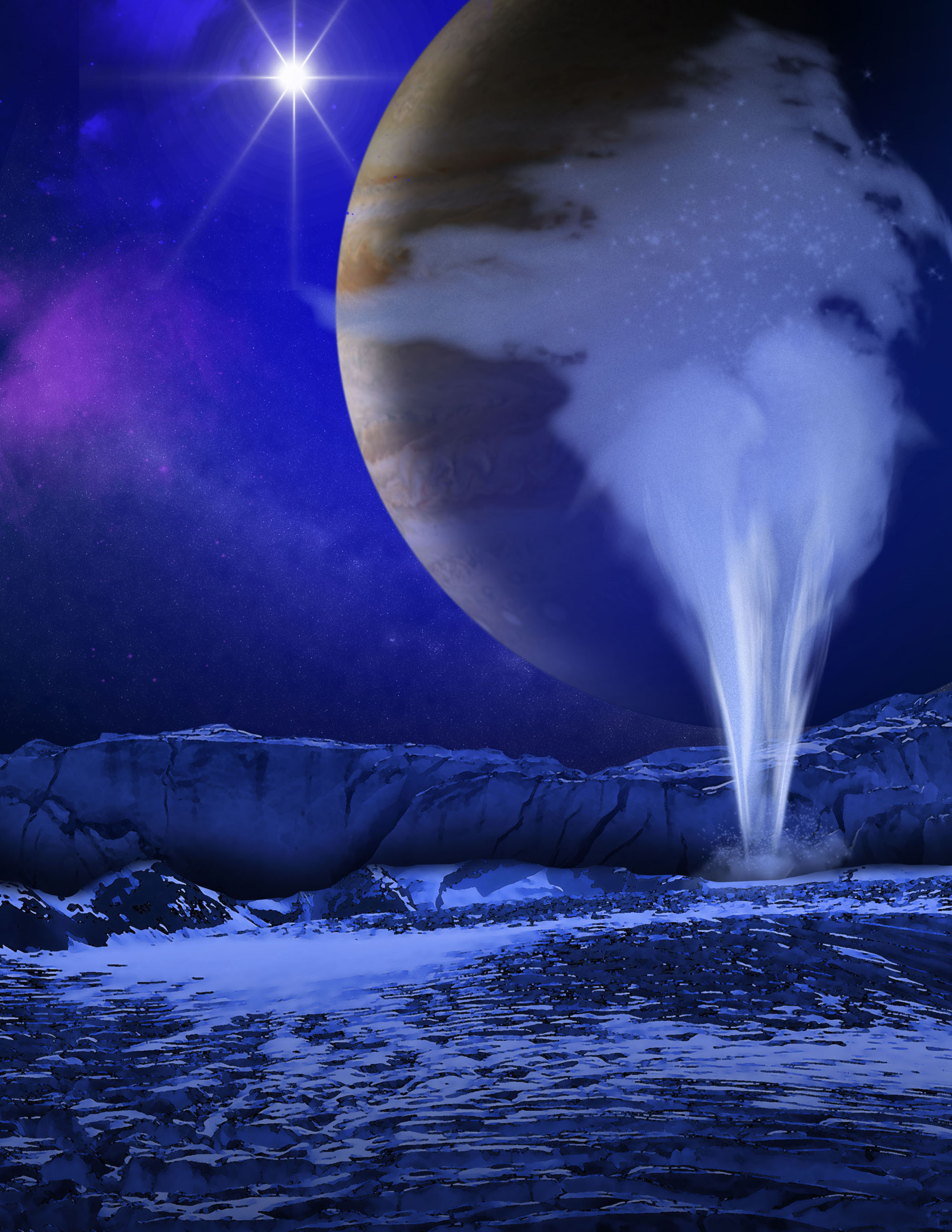 Water Geysers on Europa
