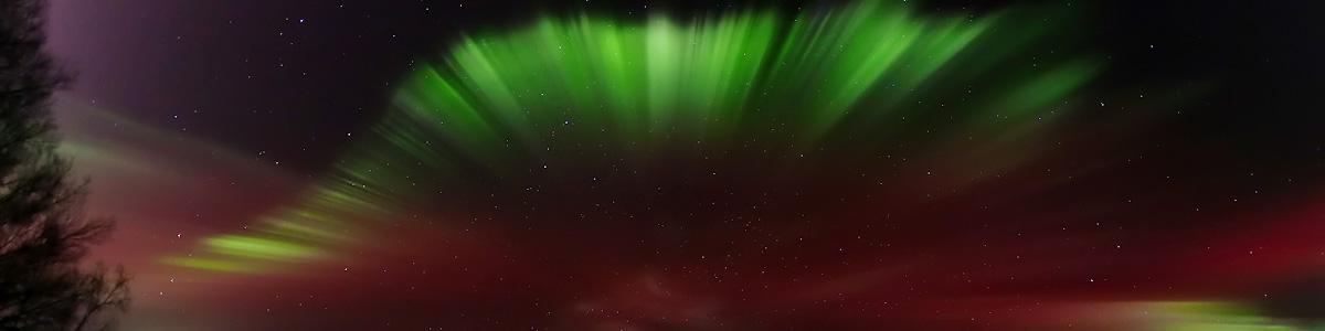Northern Lights Over Alaska by LeRoy Zimmerman
