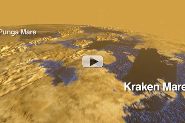 Tour the Strange Lakes of Saturn's Moon Titan | Video