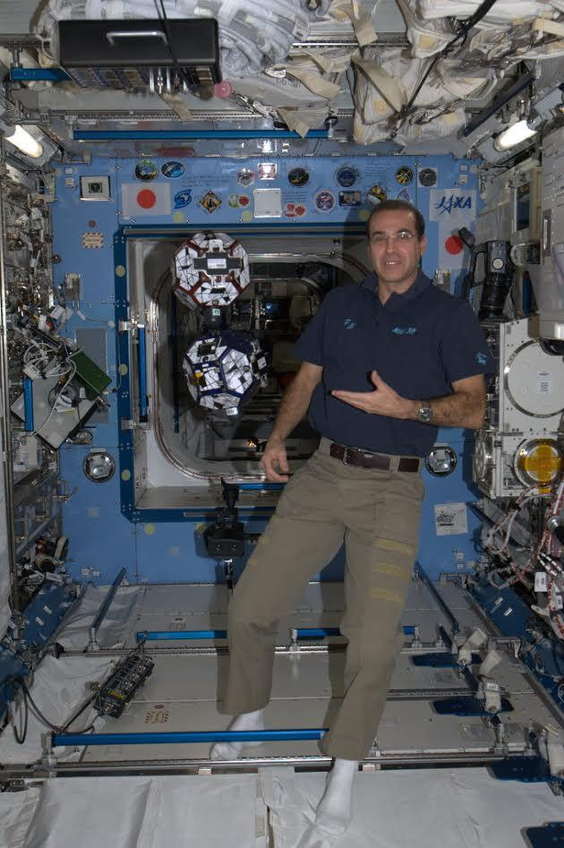 Space Station Astronaut Rick Mastracchio Calls SPACE.com Friday: Questions Wanted
