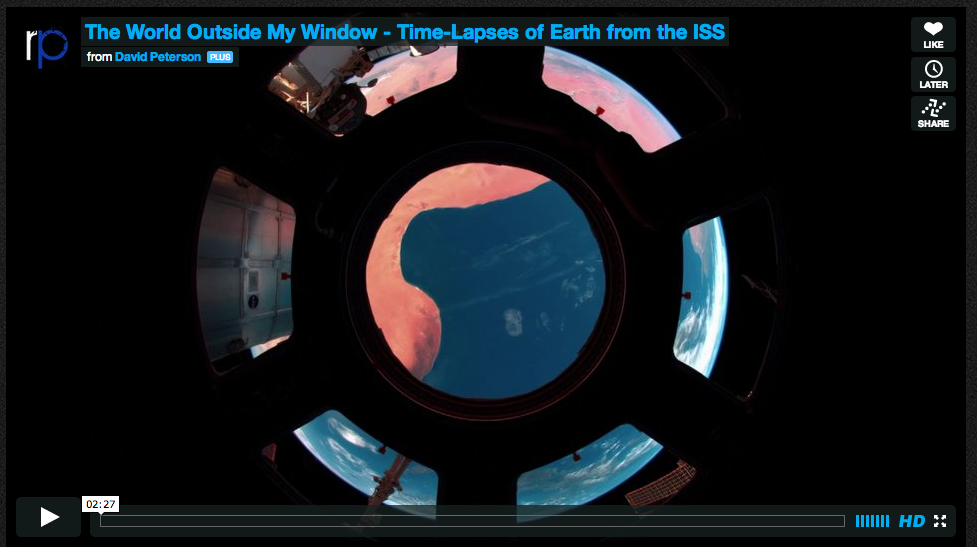 Earth Views from Space Station Star in Stunning Time-Lapse Video