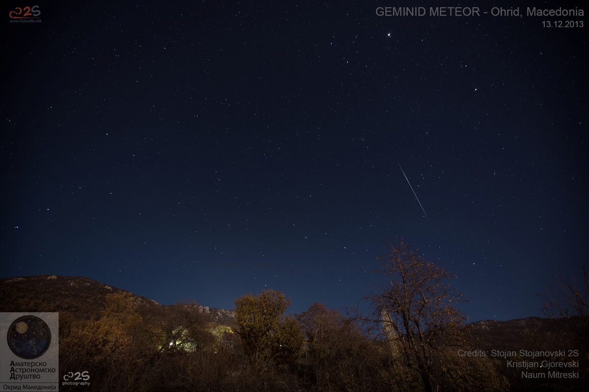 Amazing Photos: 2013 Geminid Meteor Shower Pictures by Stargazers