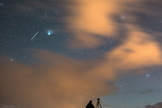 Astrophotographer Tommy Eliassen sent in a photo of a Geminid meteor taken Dec. 13, 2013, in Hemnesberget, Nordland, Norway.