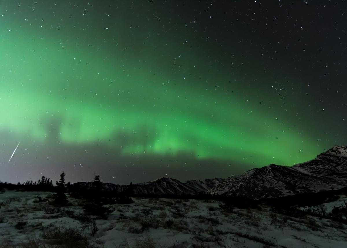 2013 Geminid Meteor Over Alaska #2