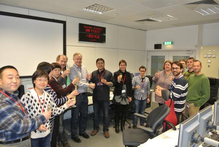 ESA Celebrates China Moon Landing