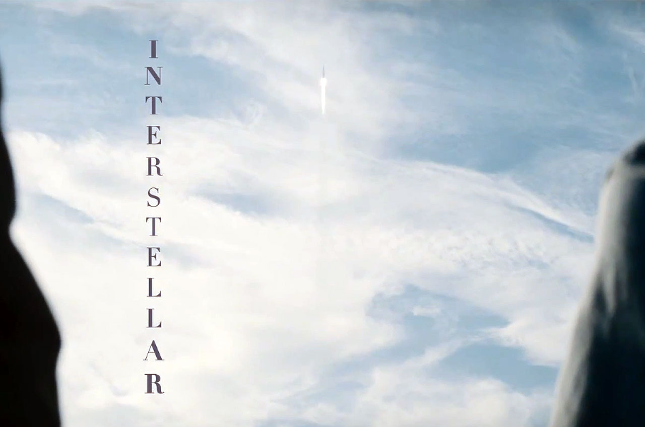 'Interstellar' Film Title Screen