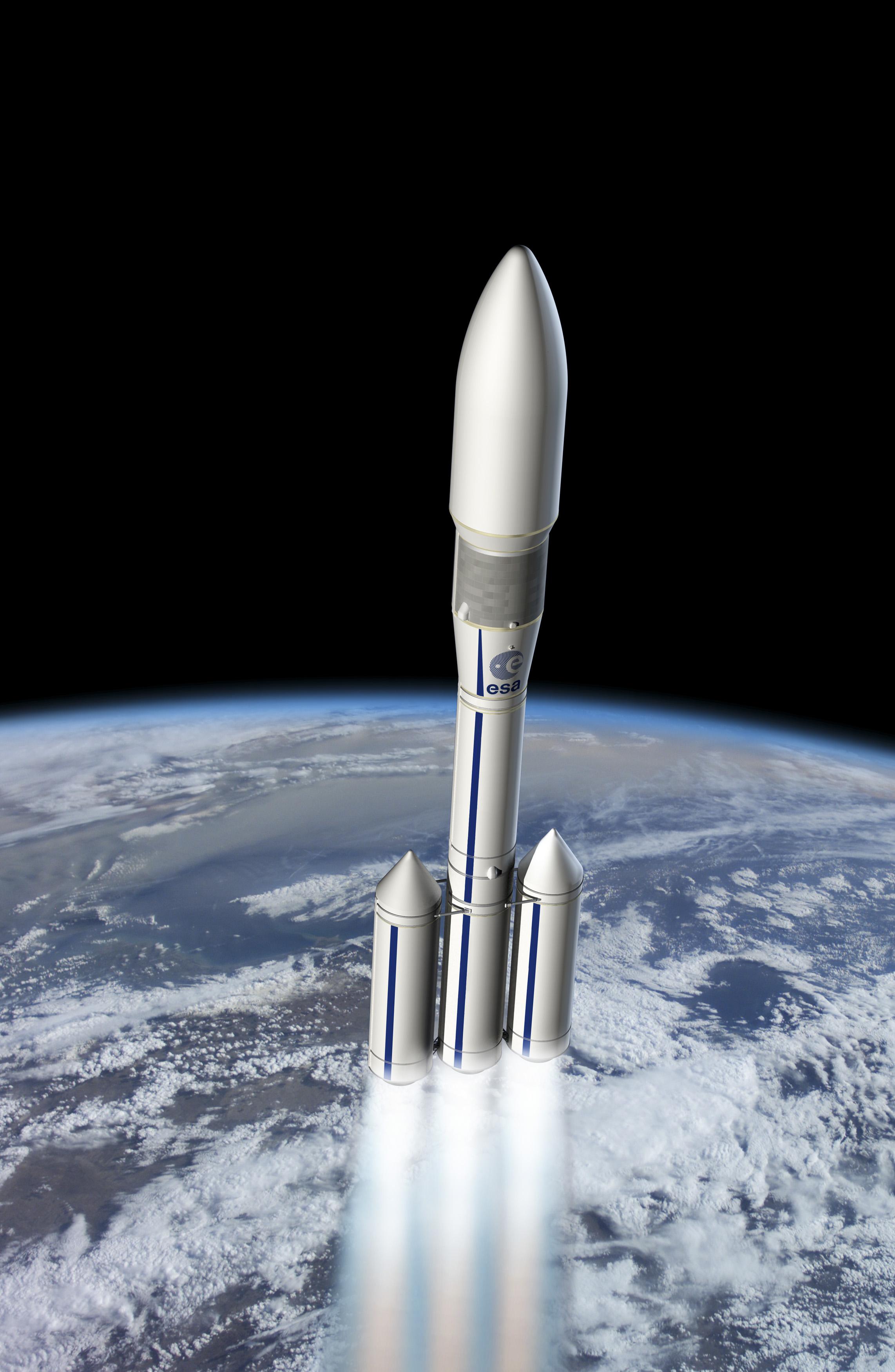 Ariane 6 Artist's Concept