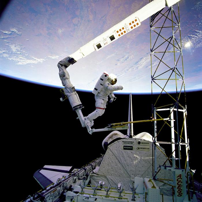 space flight 1985 - photo #1