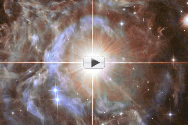 Variable Star Seen Pulsating By Hubble | Time-Lapse Video