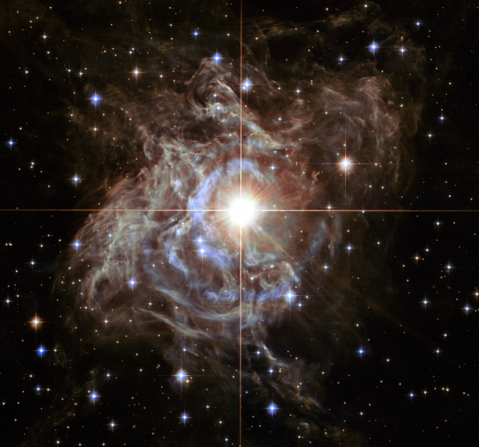 Celestial Holiday Wreath Shines in New Hubble Photo