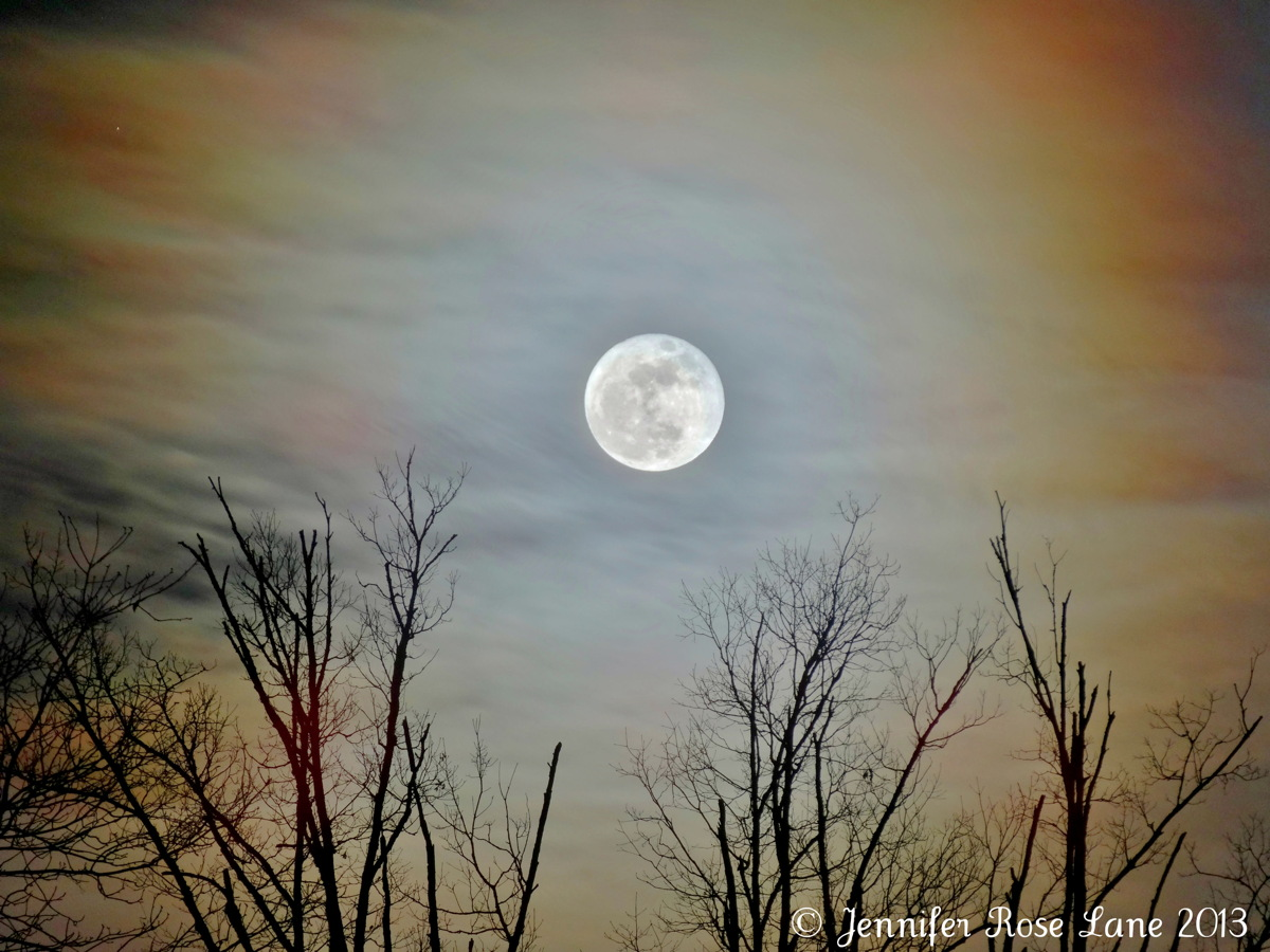 Full Cold Moon of December 2013 by Lane