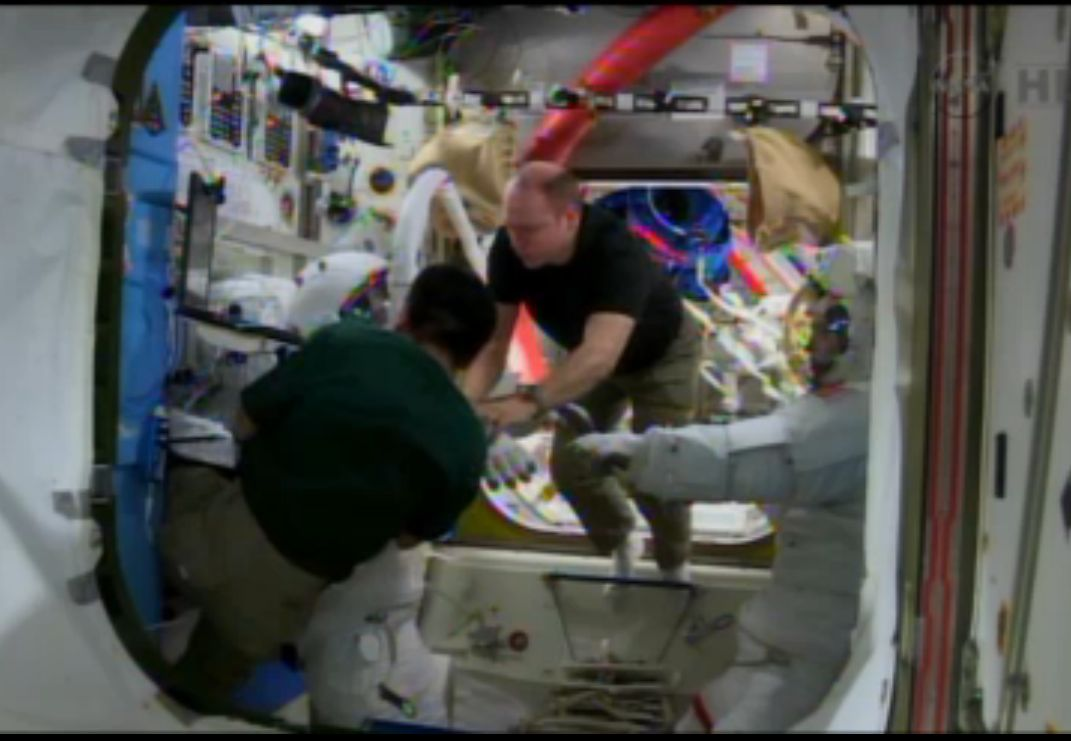 Holiday Spacewalks Required to Fix Space Station Cooling System