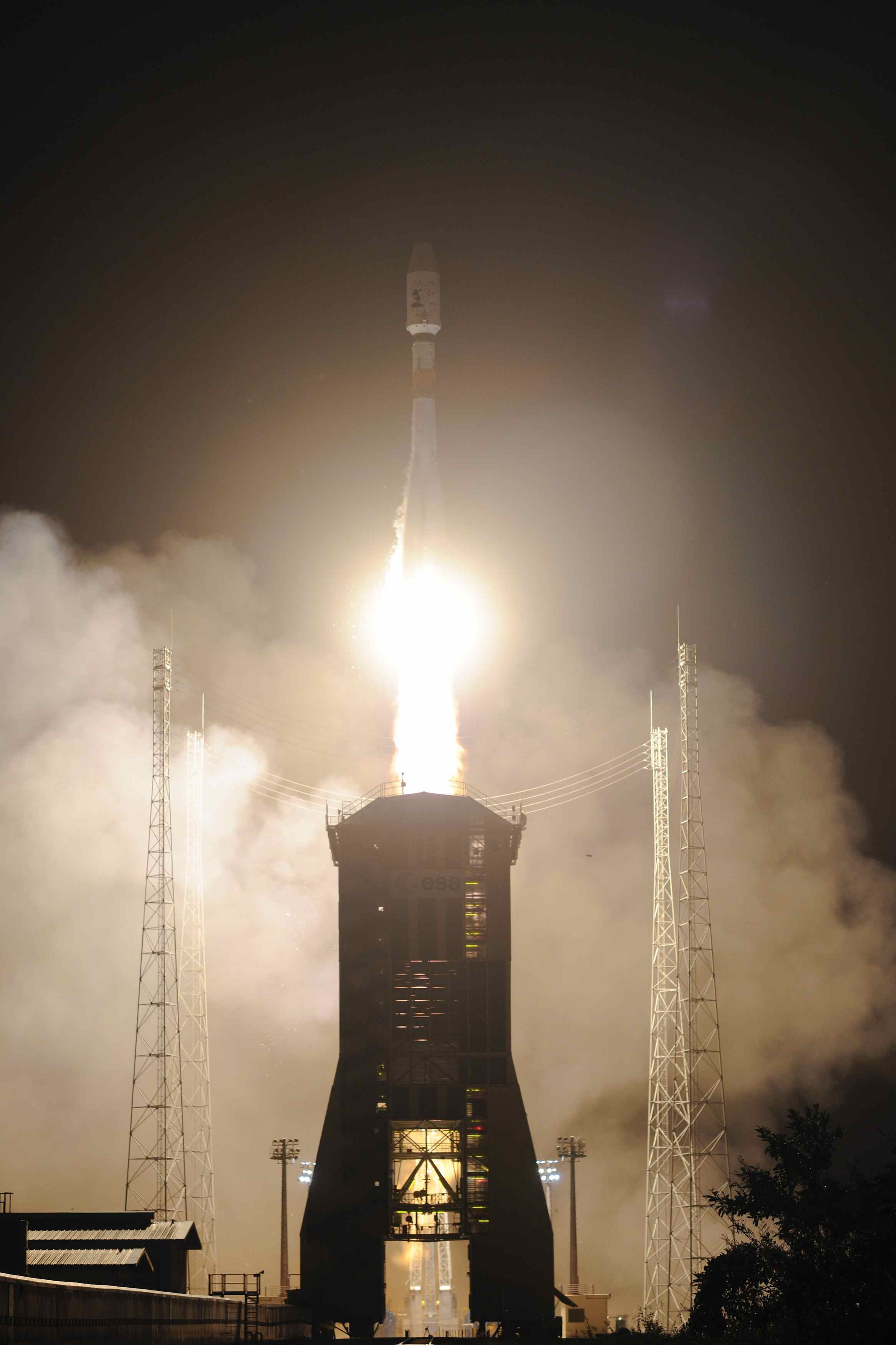 Liftoff! European Spacecraft Launches to Map 1 Billion Stars