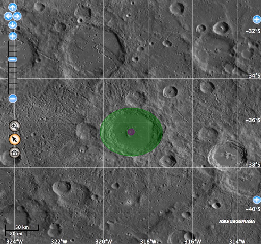Mercury Crater Named After John Lennon