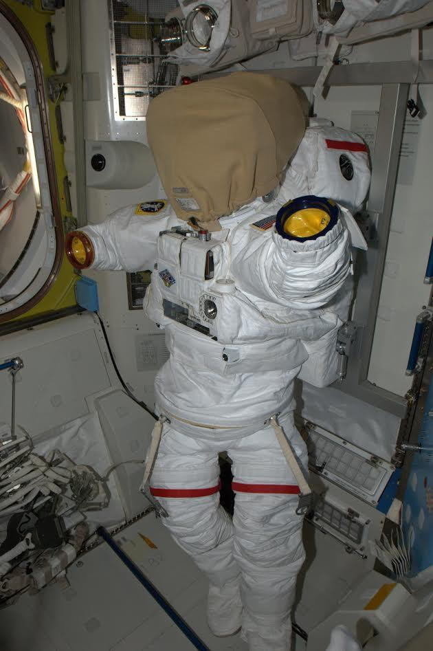 Building Spacesuits Aboard the International Space Station