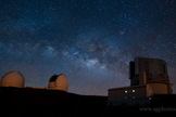 Time-lapse of the observatories atop Mauna Kea, Hawaii.