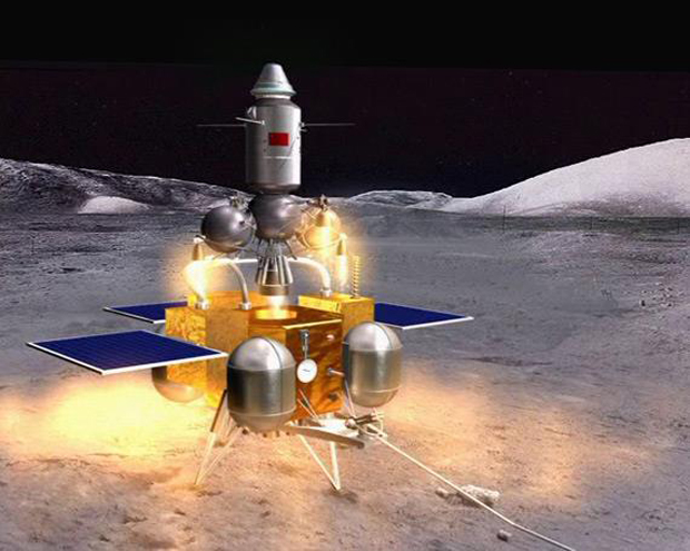 China Targets Moon Sample-Return Mission in 2017