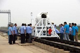 High-speed rocket sled tests are being used to help shape China's moon sample return initiative.
