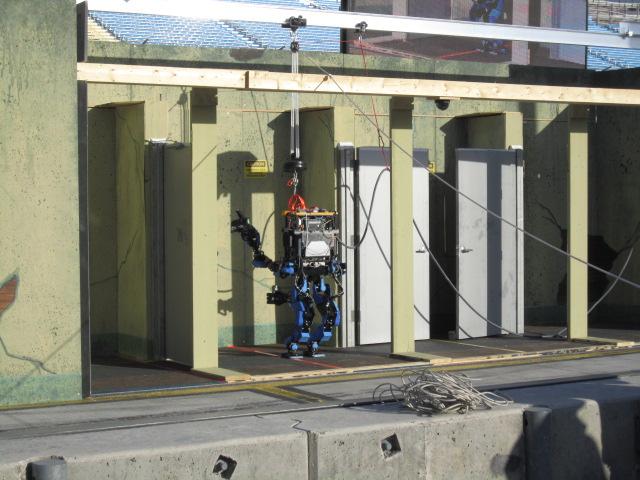 Japanese Humanoid Robot Dominates DARPA Challenge