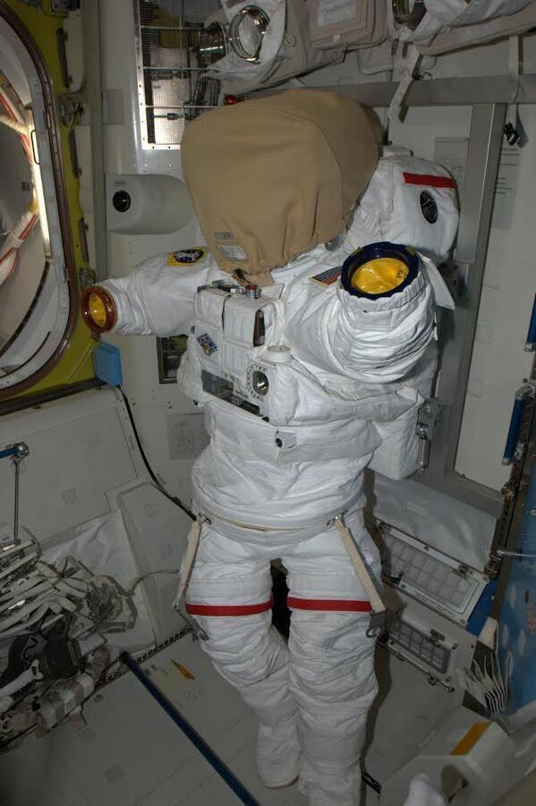 Rick Mastracchio: Busy Building Spacesuits