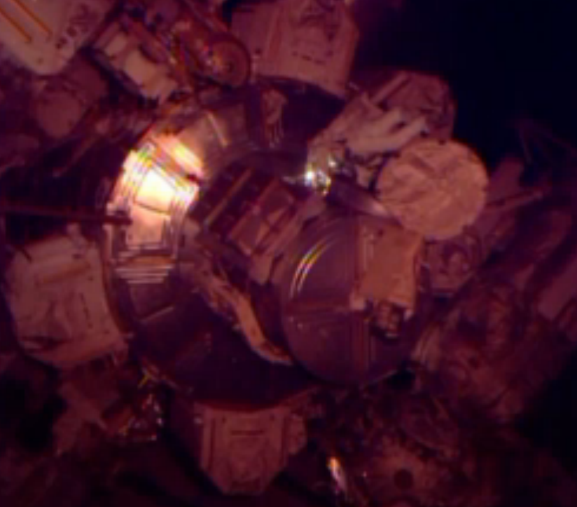 Photos: NASA Astronauts Perform Christmas Eve Spacewalk Outside Space Station