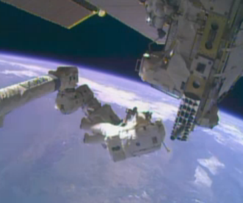 Mike Hopkins on Space Station's Robotic Arm