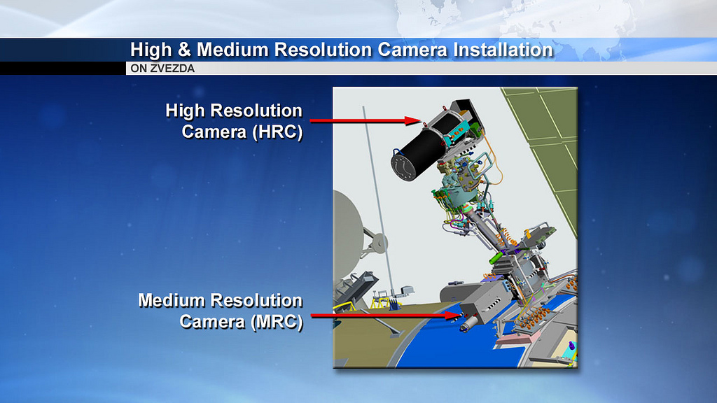 UrtheCast Cameras on Space Station: Graphic