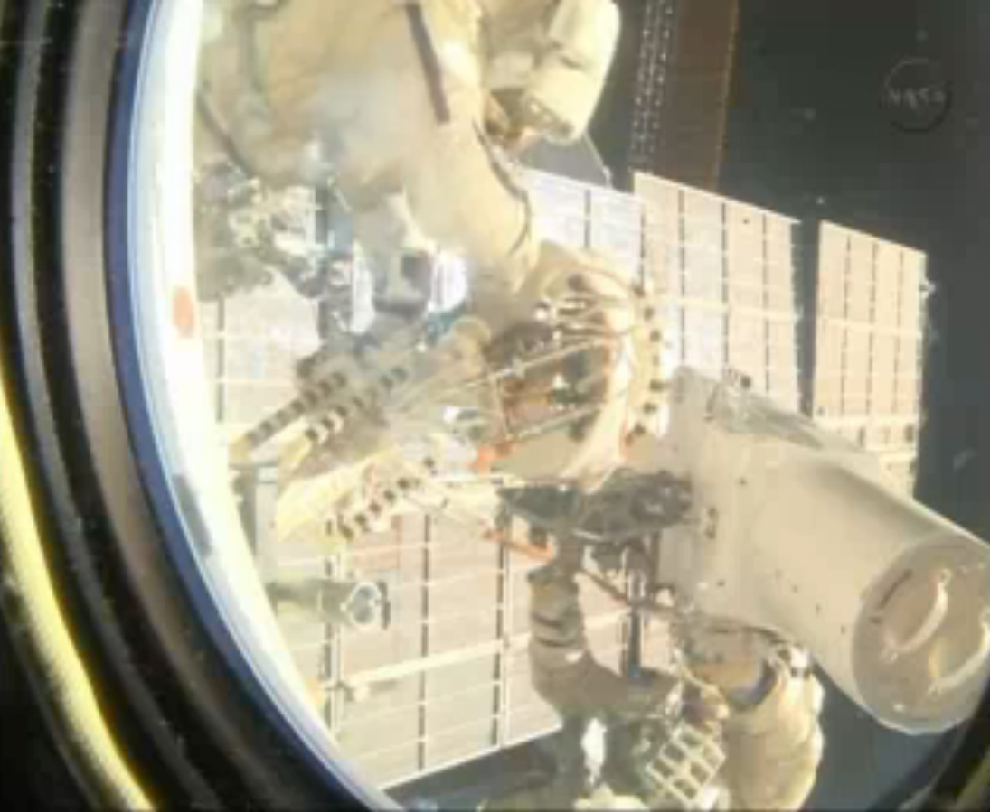 Cosmonauts Retrieve UrtheCast Camera