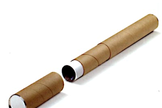 A telescoping mailing tube