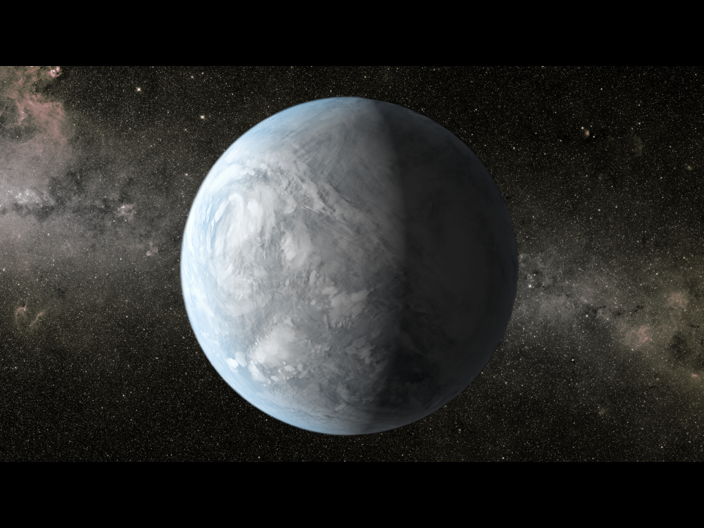 Kepler-62e: Super-Earth and Possible Water World