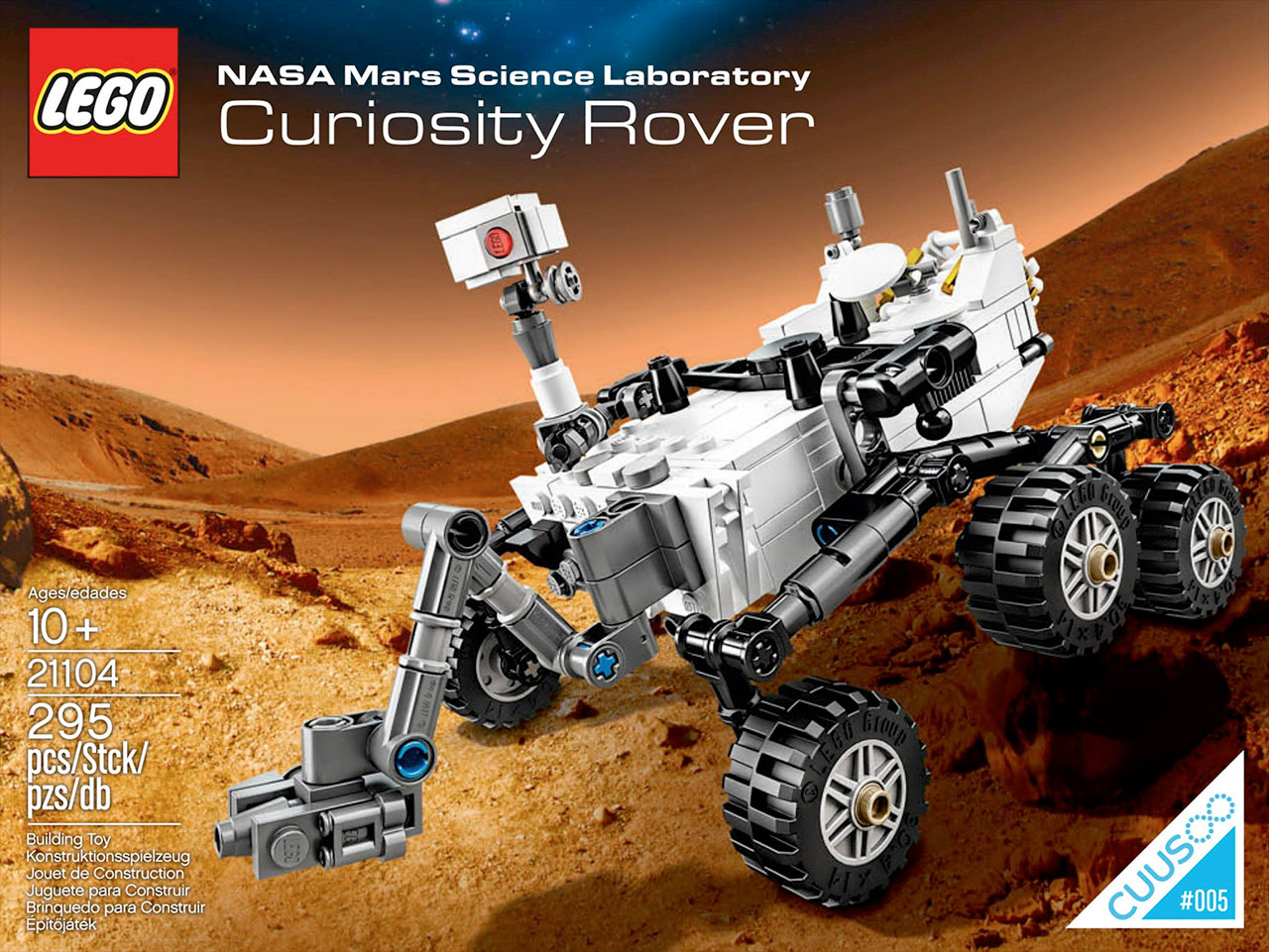 LEGO Launches Mars Curiosity Rover, 5 More Toy Brick Spacecraft Await Liftoff