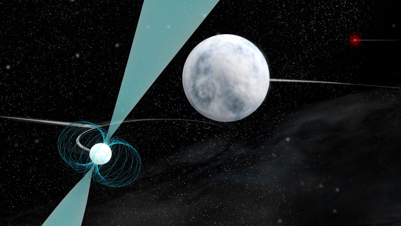 Fast-Spinning Star Tests Einstein's General Relativity Theory