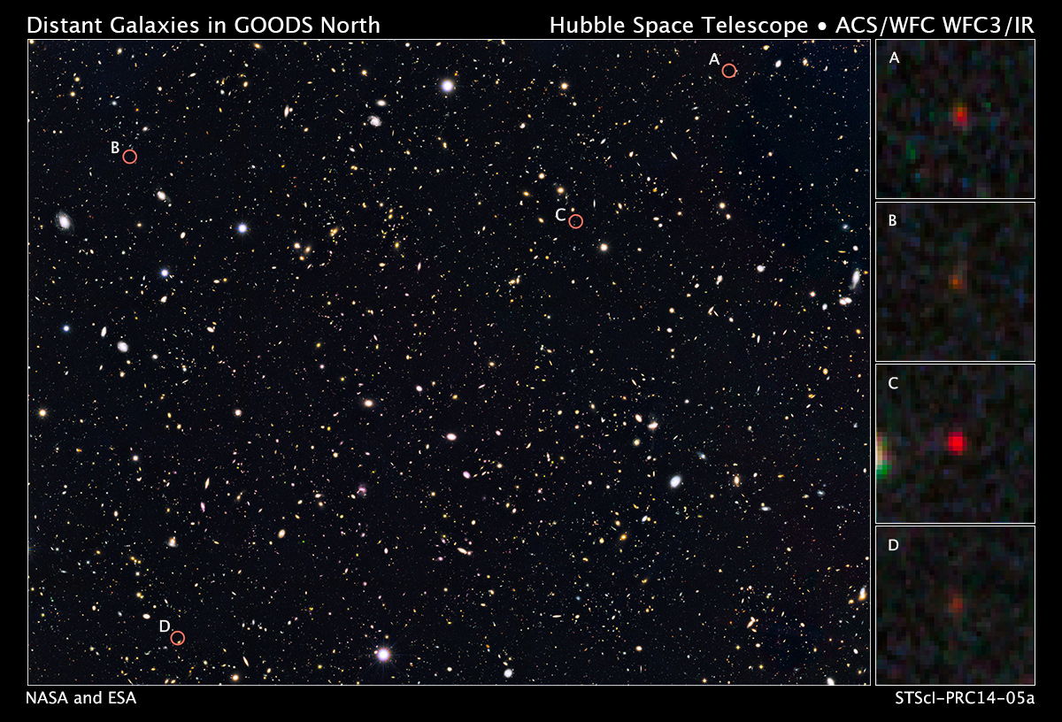 Hubble, Spitzer Find Ultra-Bright Young Galaxies