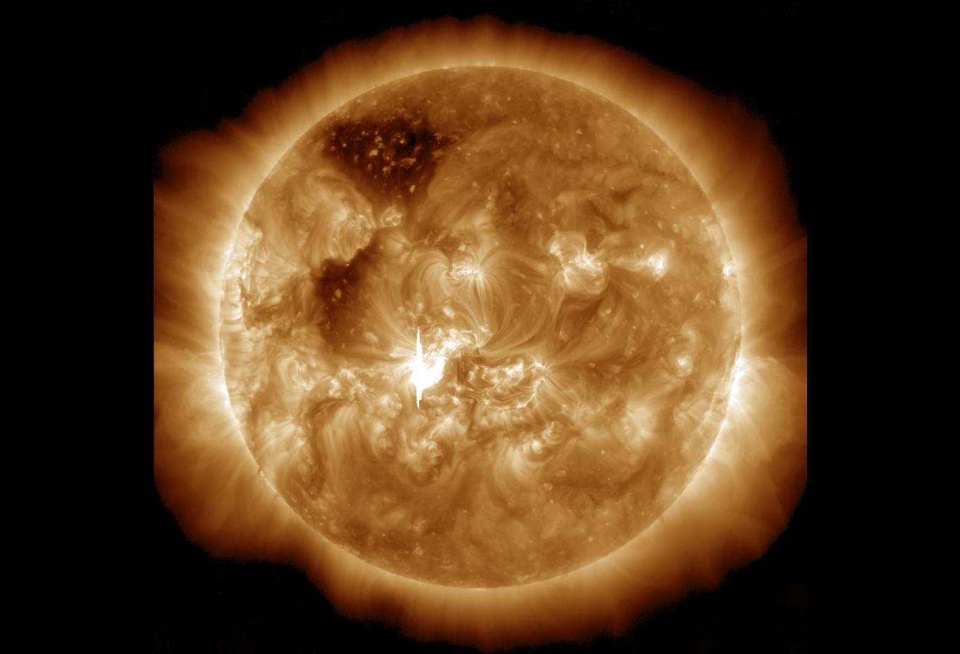 M7.2 Solar Flare on Jan. 7, 2014