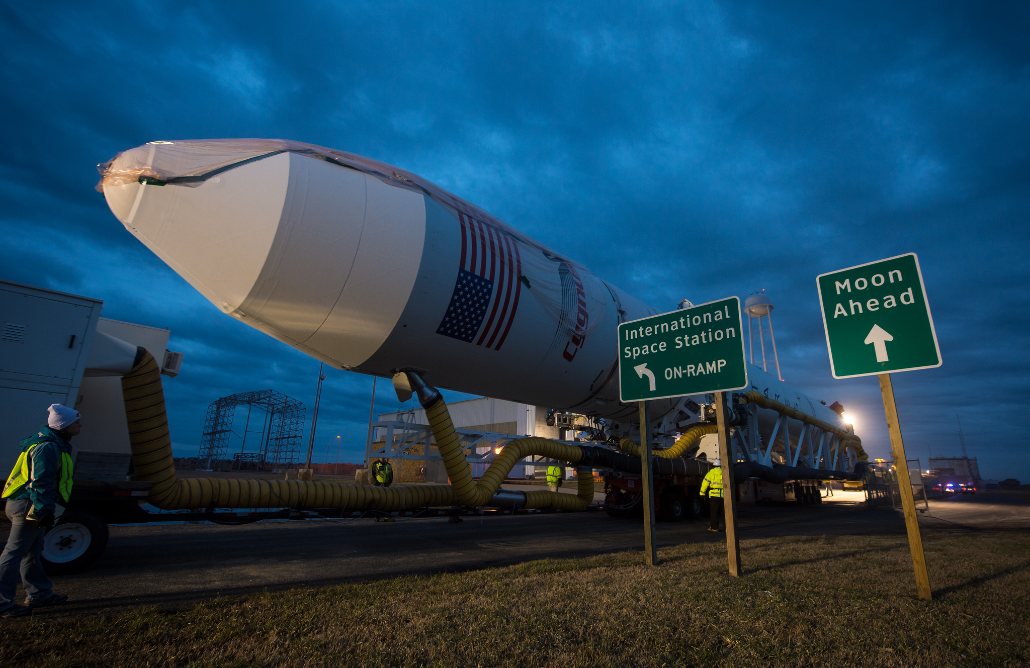 Antares Rocket: Orb-1 Mission Rollout